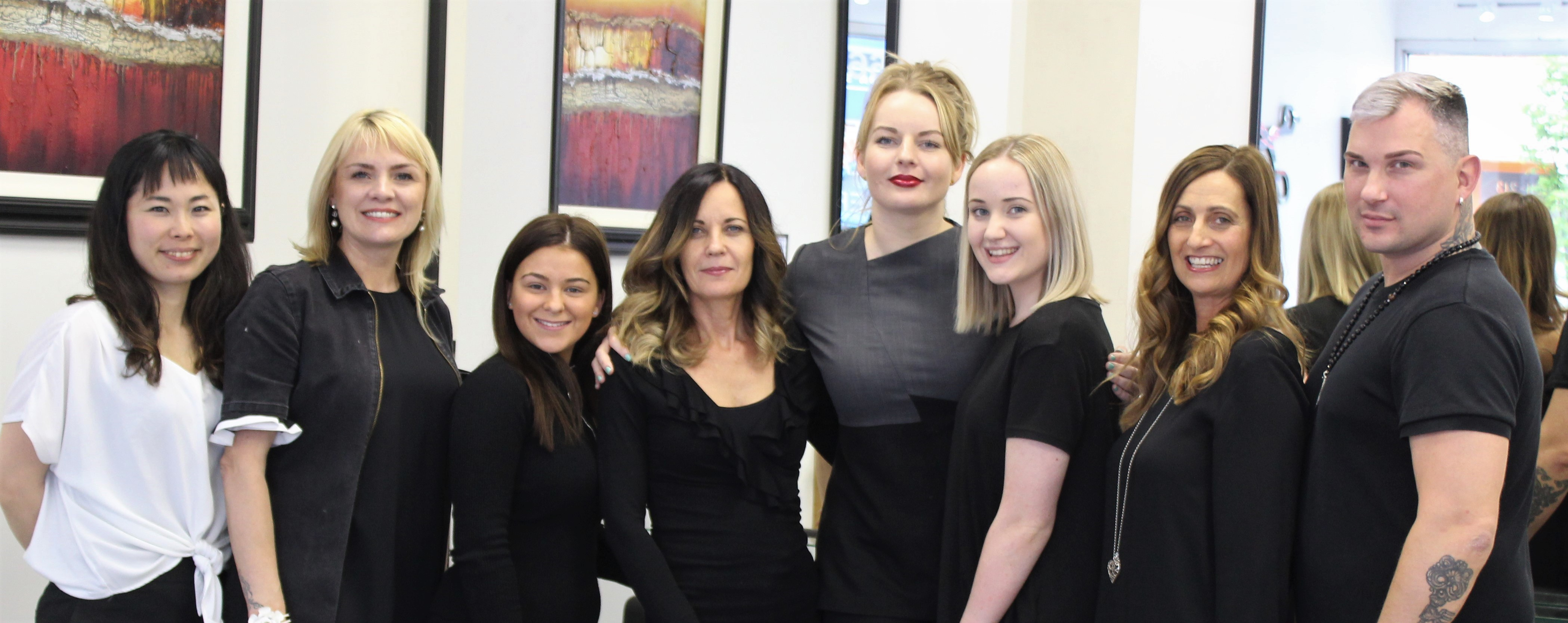 Unique Hair and Beauty Team 2019